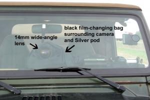 thru windshield