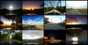 selection of time-lapse images